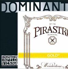 Dominant Violin Strings Set 4/4 135b a D G With Goldbrokat E Ball End