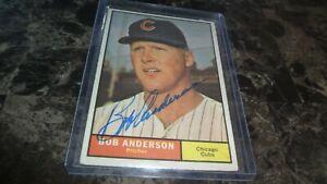 1961-TOPPS-BOB-ANDERSON-AUTOGRAPHED-BASEBALL-CARD