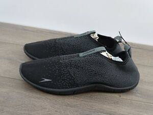 Surf Knit Athletic Water Shoe - Black