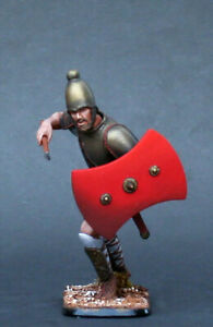 German Warrior with spear Painted Toy Soldier Pre-OrderCollectible