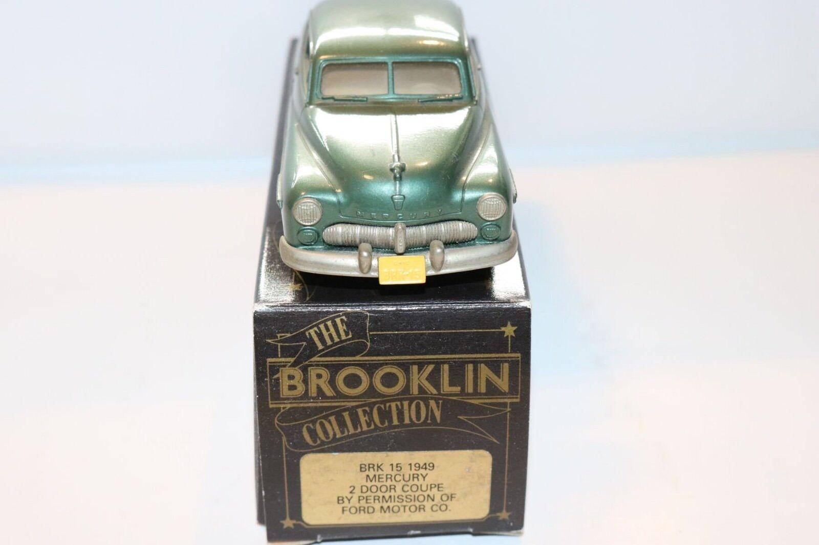 Brooklin Brooklin Brooklin BRK 15 Mercury 2 door coupe 1949 1 43 perfect mint in box 361306