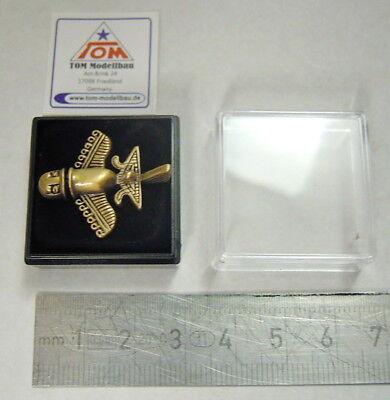 pre Astronautics New Gold Plane Pin//Pin Paleo Seti Silver