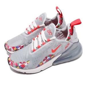 brand new 18b03 19323 Details about Nike Wmns Air Max 270 Grey Red Chinese New Year CNY Womens  Shoes BV6654-059