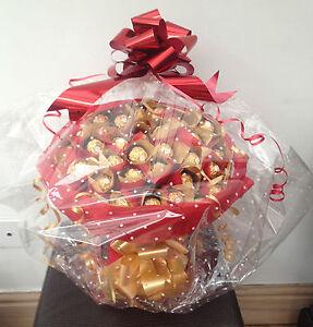 Large luxury ferrero rocher chocolate bouquet 34 for Regalo oggetti usati