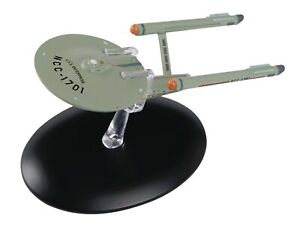 Eaglemoss-STAR-TREK-USS-Enterprise-NCC-1701-TOS-STARSHIP-KIRK-Best-of-11-W-MAG