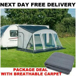 New + Quality Breathable Carpet Sunncamp Swift 390 Deluxe ...