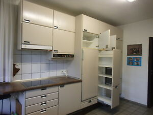 Poggenpohl Küche Farbe Quartz, Ende 70er Jahre, viel Stauraum ...
