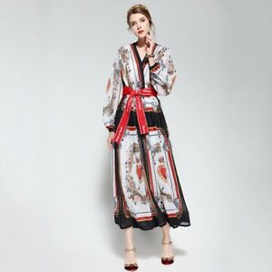 Details about PGM18 Women Designer Inspired Vintage Print Kaftan Long  Summer Dress PLUS SIZE