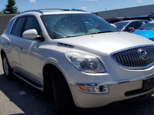 2009 Buick Enclave CX 7 Passengers