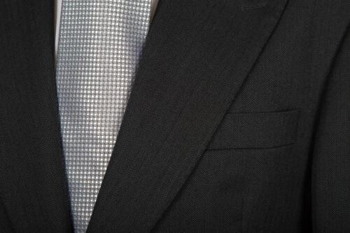 MENS SLATE GREY HERRINGBONE EX HIRE TAILCOAT WEDDING MORNING DRESS SUIT TAILS