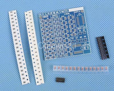DIY Kit SMT SMD Component Welding Board Soldering Board SMT SMD for Practice