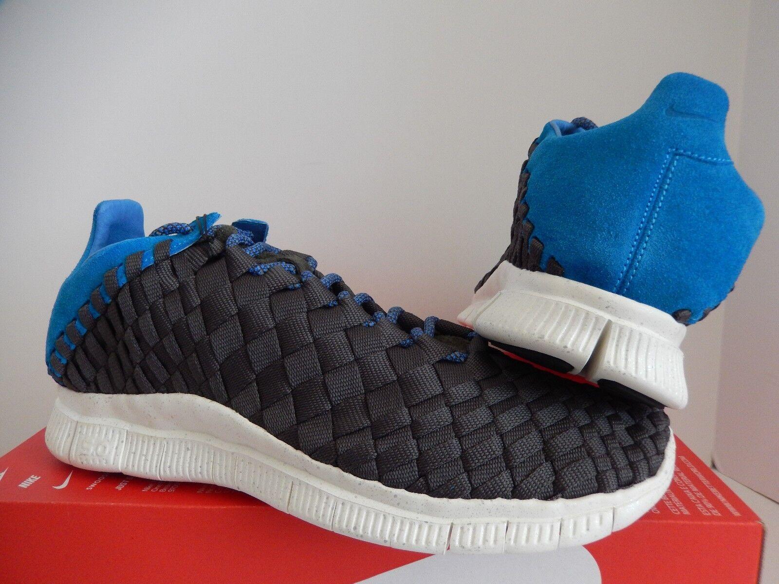 Nike [579916-004] FREE INNEVA tejido papel prensa Gris-Azul Héroe-Vela [579916-004] Nike aea3d1