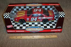 1:18 Ertl American Muscle #94 McDonald's Thunderbird Diecast NASCAR Race Car