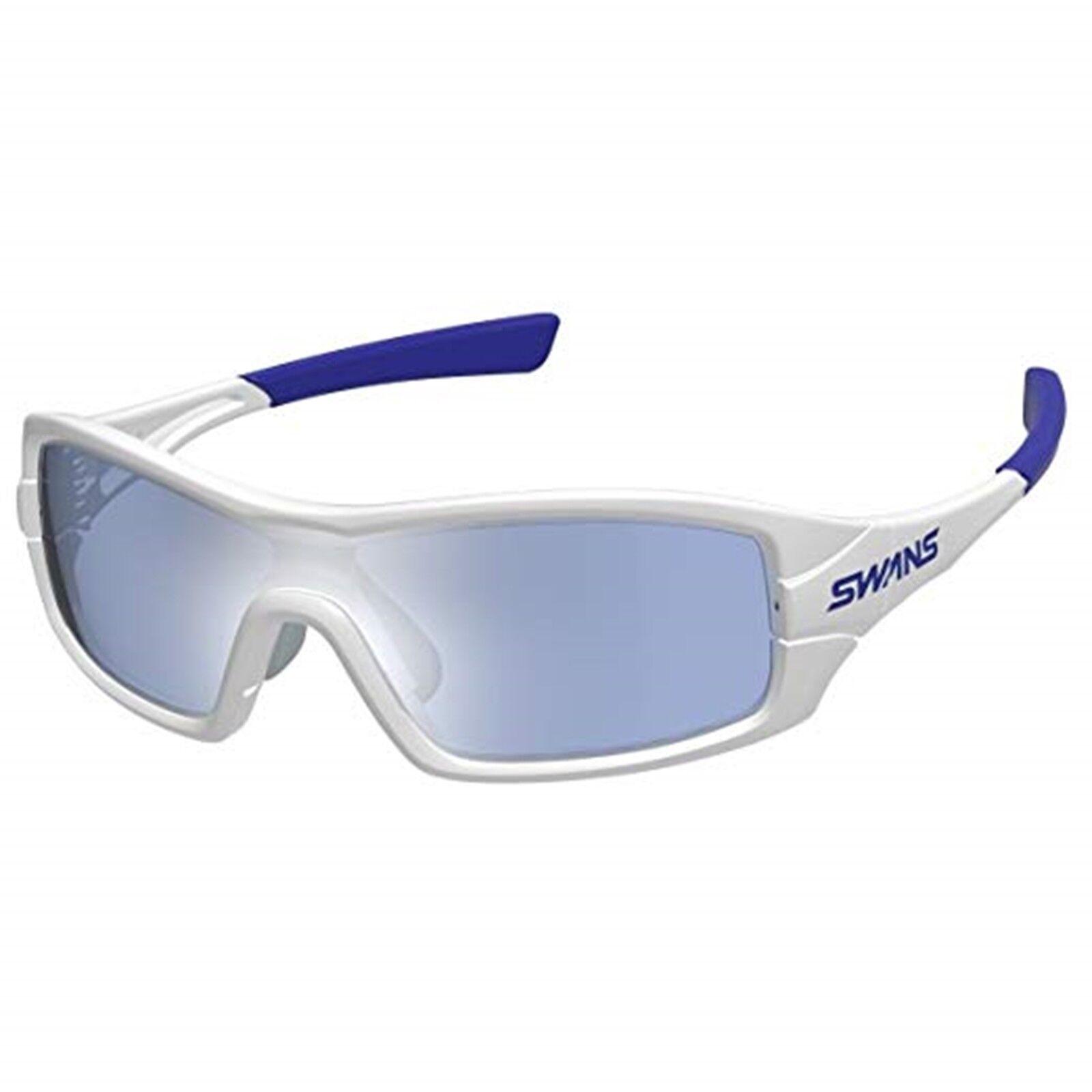 SWANS Sunglasses Japan two way Frame UV cut Ice Blau Mirror STRIX I-0714 PAW NEW