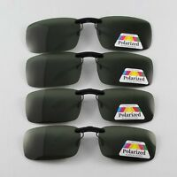 Polarized Sunglasses Clip On Eyeglasses Deep Green Fishing Uv Protect Shade Poin