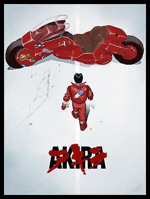 Akira Anime Movies Poster FRIDGE MAGNET 6x8 Japanese Classic Magnetic Print #AP