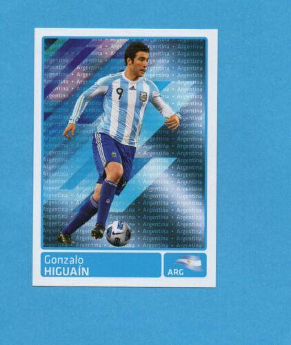 COPA AMERICA 2011 ARGENTINA-Figurina n.326 HIGUAIN ARGENTINA NEW BLACK
