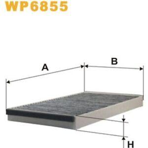 ORIGINAL WIX FILTERS FILTER, INNENRAUMLUFT WP6855 VOLVO 850,V70 I