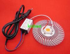 10W full spectrum led chip with heatsink 3x3w 900mA LED driver Hydroponic Plant