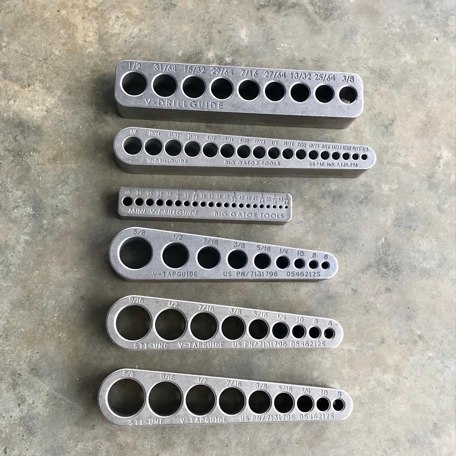 Big Gator Tools - STANDARDSET - The Complete Standard Set - 6 Piece Tool Set