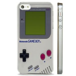 Details about Retro Nintento Game Boy CLEAR PHONE CASE COVER fits iPHONE 5 6 7 8 X