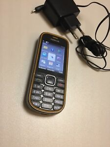Nokia-3720-Gelb-Ohne-Simlock-100-Original-Top-Zustand