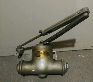 Lockwood-Antique-Vintage-Ball-Bearing-Door-Closer-No-C30-Industrial-Steampunk