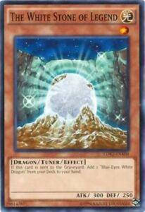 The White Stone of Legend - LDK2-ENK04 - Common - Unlimited Edition x3 - Near Mi