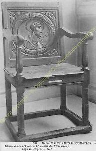 Postcard-Arts-Decorative-Furniture-Chaise-IN-Arm-XVI-Edit-ND-337