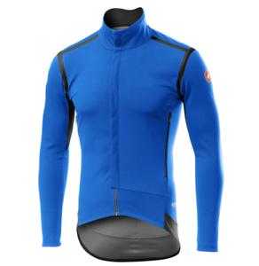 Castelli Cyclisme Perfetto Ros Veste à manches longues-drive Bleu Taille L