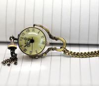 "Wholesale HOT!Jewelry Tone Necklace Chain Quartz Pocket Watch 88cm(34-5/8"")"