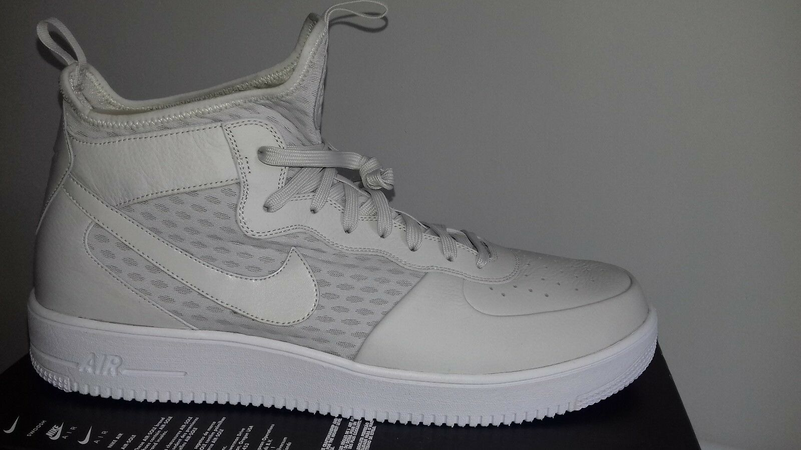 Nike Air Force 1 Ultraforce Mid Light 864014-003 Bone blanc 864014-003 Light 0b66f0