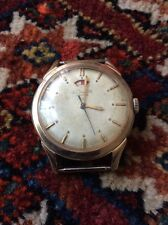 Vintage Jeager Le Coultre Automatic 17J Cal.481 Mens Watch 10k Gold Filled Case