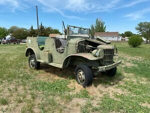WWII US ARMY 1941 DODGE WC-6 COMMAND RECONNAISSANCE CAR