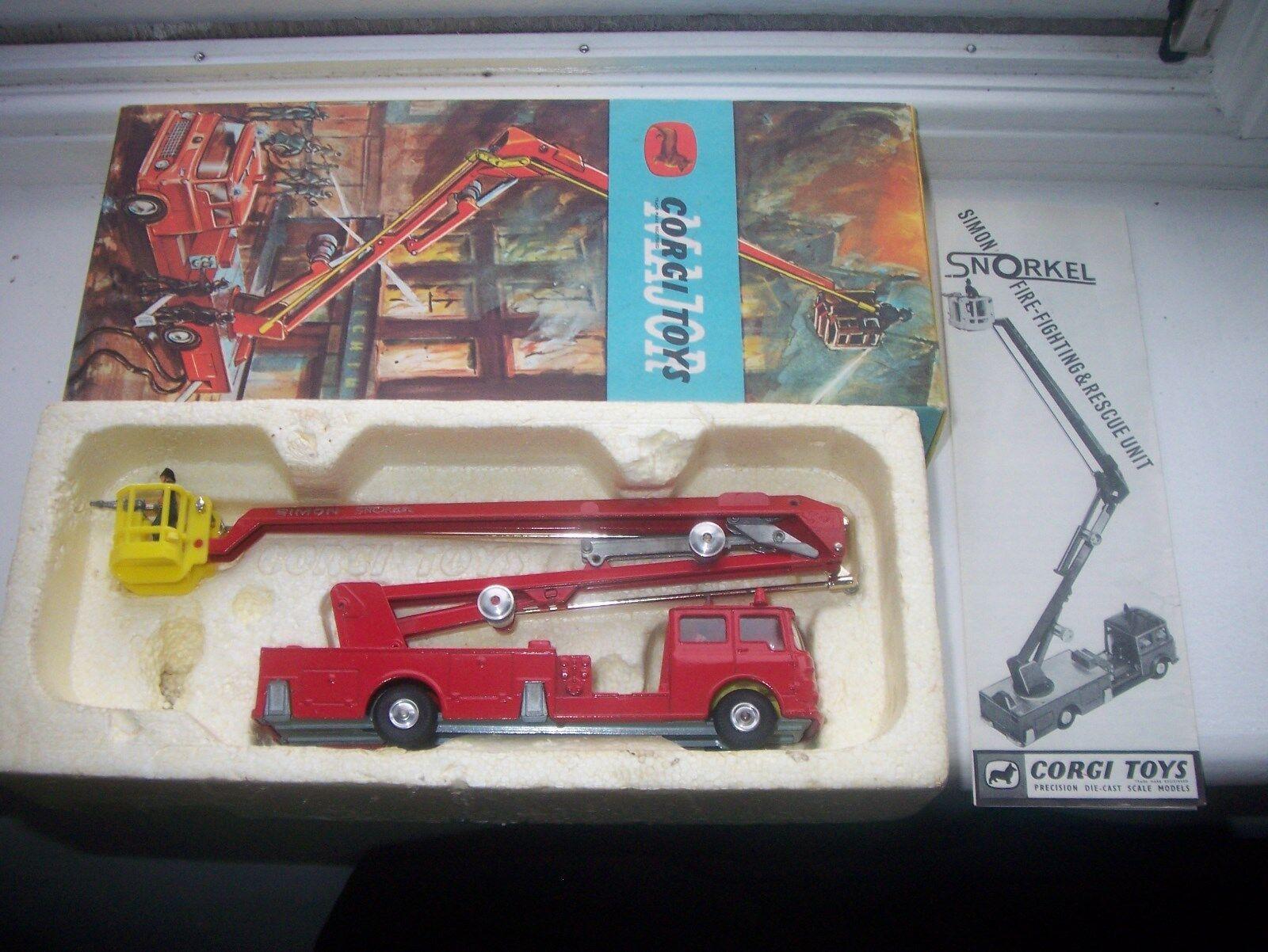 CORGI TOYS MAJOR Tuba, feu moteur, boîte, instructions