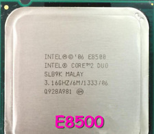 Intel Core 2 Duo E8500 / 3.16GHz / 6MB / 1333MHz 775 Desktop Processor