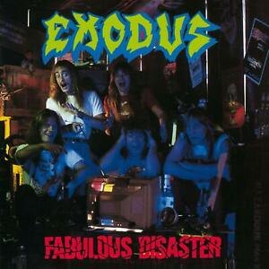 Exodus-FABULOUS-DISASTER-Gatefold-NEW-SEALED-Red-Colored-Vinyl-Record-LP