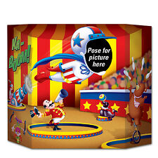 Big Top Circus Photo Prop - 94  x 64cm - Flying Man Party Decoration