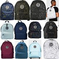 Mens Boys Girls HYPE Backpack Designer Rucksack Bag School College Work Laptop