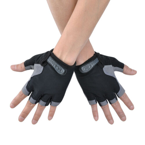 Mens Womens Weight Lifting Gym Gloves Workout Women Gel Training Fitness Cycling