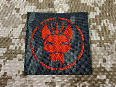 WR-PTRST-MC Warrior SEAL Team Reflective Patch Multicam