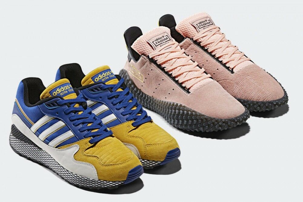 Adidas Original limited collaboration dragon ball ULTRA TECH Vegeta PS FS