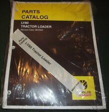 New Holland Lv80 Tractor Loader Parts Manual Book Catalog New