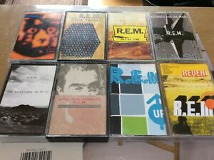 REM-Cassette-Tapes-x8-R-E-M-Up-Eponymous-Monster-out-of-time