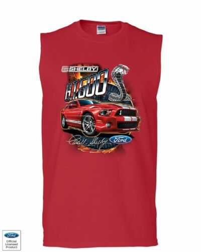 Ford Mustang 2014 Shelby GT500 Cobra Muscle Shirt American Muscle Car Sleeveless