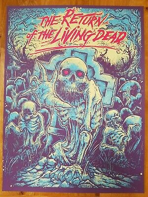 Considerate Godmachine 'the Return Of The Living Dead' Very Rare 67/115 Not Mondo Easy To Repair