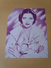 Kay Francis Genuine Autograph - UACC / AFTAL.