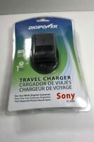 Digipower Travel Charger For Sony Digital Cameras Tc-500s Cordless