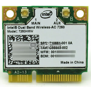 New-Intel-7260-7260HMW-802-11ac-WiFi-WLAN-Bluetooth-4-0-Half-Mini-PCI-E-Card