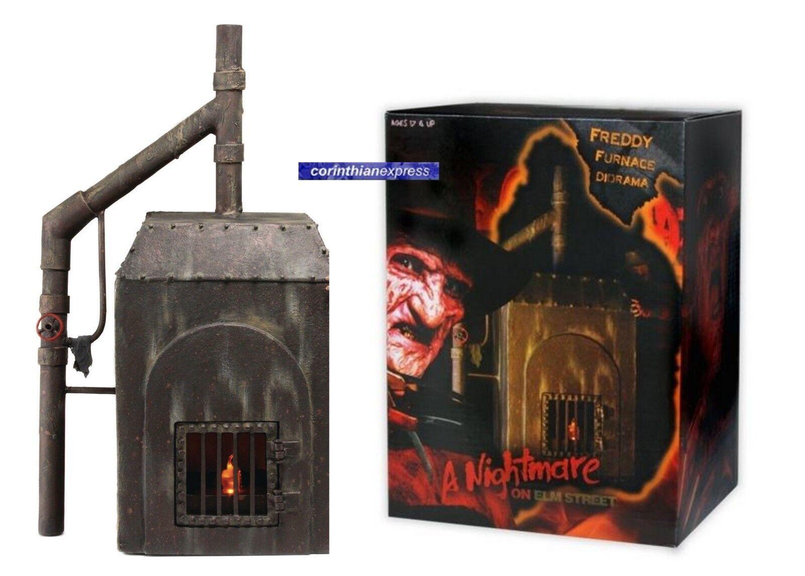 NECA Nightmare On Elm Street FREDDY KRUEGER'S FURNACE LED Diorama - 7  scale